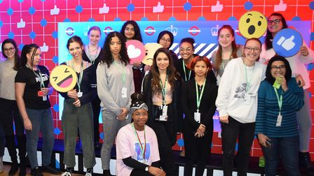 Students from Hampstead School, Camden School for Girls, UCL Academy and Acland Burghley School were