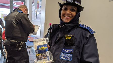 Hampstead PCSO Naomi Francis. Picture: Sam Volpe