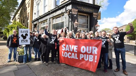 Campaigners have long fought to restore The Squirrel but the pub's owner, The Cowell Group (TCG), ha