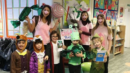 Kids enjoyed a day off from their normal routine. Picture: University College School Hampstead