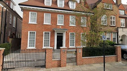 17 Wadham Gardens sold for £13m last October. Picture: Google Maps