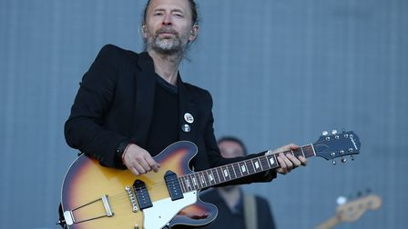 Thom Yorke. Picture: Pa/Andrew Milligan