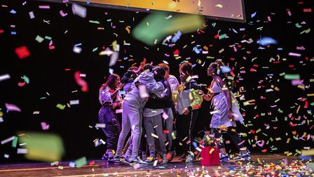 Hackney Empire's youth talent show Alter Ego. Picture: Fabrice Bourgelle