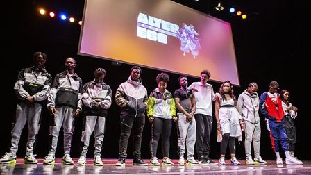 The Winners of Alter Ego 2020 line up. Picture: Fabrice Bourgelle