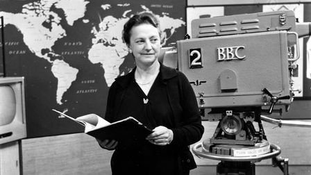 Grace Wyndham Goldie, the BBC executive who pioneered TV coverage of general elections. Picture: BBC