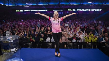 Fallon Sherrock became the first woman to defeat a man at the World Darts Championship in December.