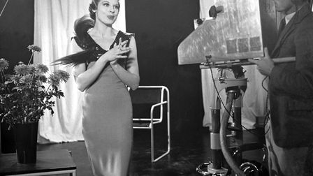 Adele Dixon, who in 1936 became the first woman to perform on British television. Picture: BBC Photo