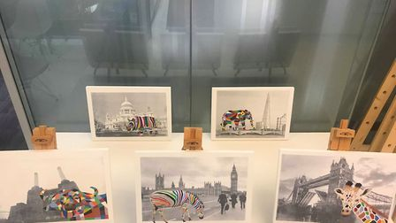 The art fair raised almost £5000 for charity. Picture: Osbornes Law