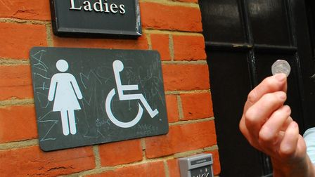 Before the coronavirus, the parks' toilets cost 20p. Picture: Polly Hancock