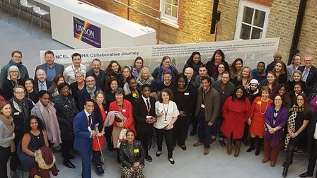 A group photo from the launch. Picture: ELFT