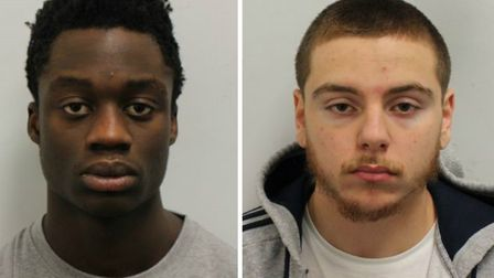 Isaiah Popoola and Ben Drummond. Pictures: Met Police
