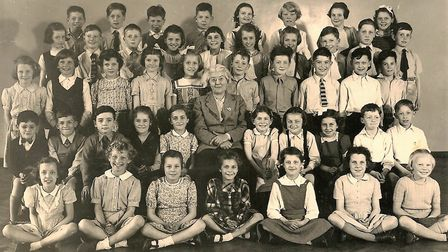 Class 2a, June 1954. Picture: Henry Grant