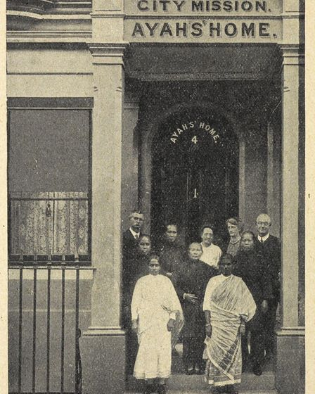 The exterior of the house in Mare Street. Picture: London City Mission Magazine published December 1