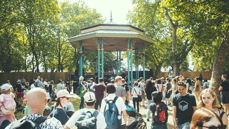 ELAM students will be invited to perform on the bandstand at the weekday festival. Photo: Ror
