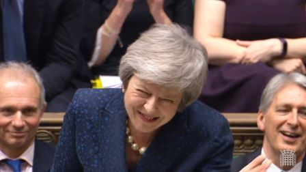 Prime minister Theresa May has won a vote of no confidence Photo: PA