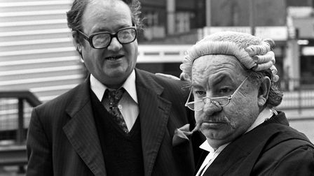 "John Mortimer, the playwright Q.C., author of Thames TV's new six-part series, ""Rumpole of the Baile"