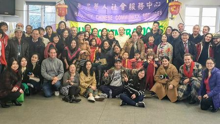 Members of Hackney Chinese Community Services. Picture: Maria Garbutt-Lucero