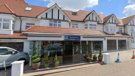 The Best Western Palm Hotel in Childs Hill. Picture: Google