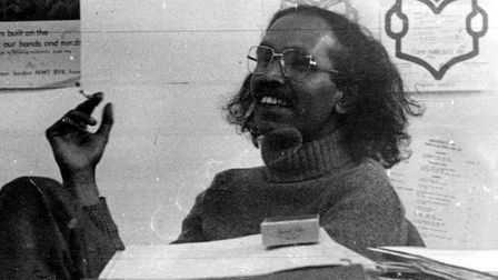 Abdul Momen would recite lines of the poet William Blake, who was the subject of the activist's unfi