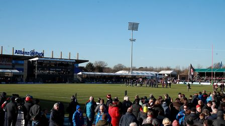 A general view of Allianz Park, home of Saracens (pic Adam Davy/PA)