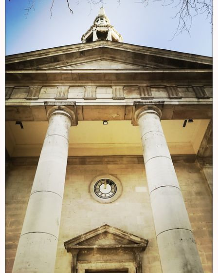 The facade of St Leonard's Church. Picture: Heritage of London Trust