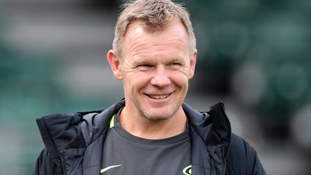 Saracens Director of rugby Mark McCall before the Gallagher Premiership match at the Allianz Stadium