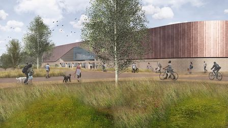 View of proposed new twin rink at Lee Valley Ice Centre (Pic: Grayling)