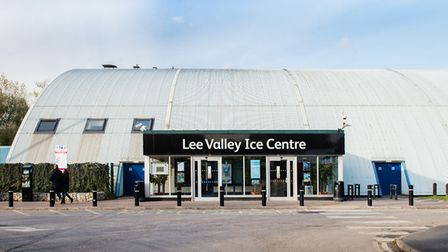 Lee Valley Ice Centre, Lea Bridge Road. Picture: Eleanor Bentall