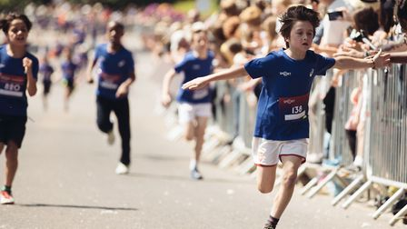 Asics London 10k has launched the Weetabix Youth Protein Challenge. Picture: Asics