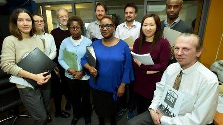 The Hackney Community Law Centre team which includes Solicitors, Paralegals, lawyers, interns and ad