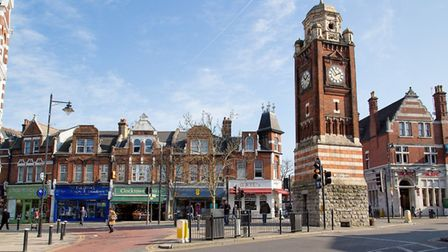 Crouch End Broadway. Picture: Hugh Flouch/Wikimedia Commons