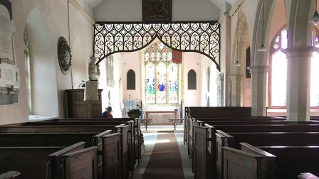 A special exhibition will be held at St. Michael's Church at Benacre at the end of the month. Pictur