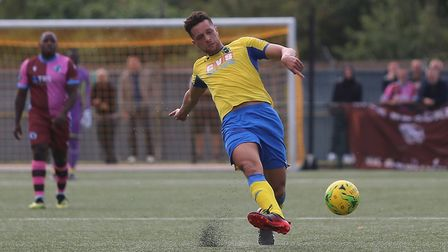 Lionel Stone returned for Haringey Borough against Bognor Regis. Picture: George Phillipou/TGS Photo