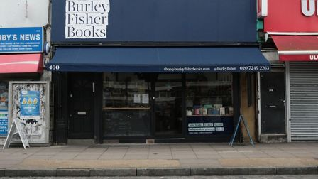 Burley Fisher Books in Haggerston. Picture: Burley Fisher Books