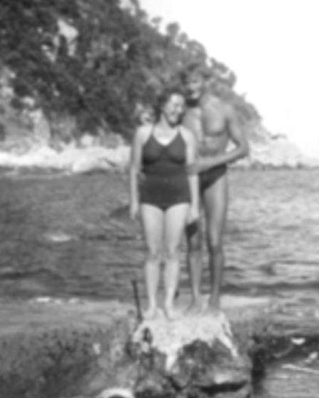 Roman and Susan Halter in their younger days. Picture: Halter family / PRLUG