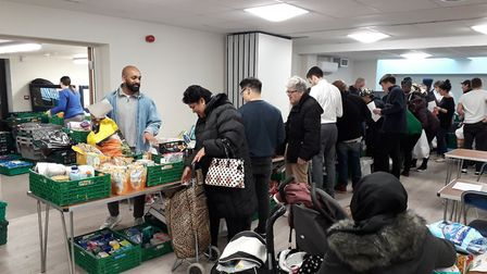 North Paddington Foodbank is facing shortages amid the coronavirus outbreak. Picture: Owen Sheppard