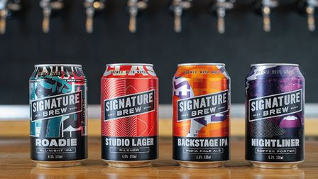"Signature Brew's range of beers, which are included in its ""self-isolation packs"""