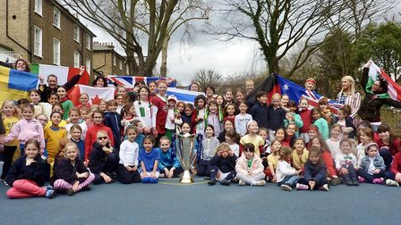 The Village Prep in Belsize Park held a mini Olympics as part of Sport Relief