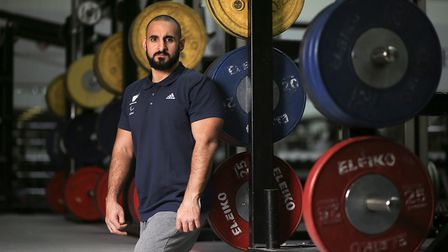 Powerlifter Ali Jawad won the silver medal at the Paralympics in Rio