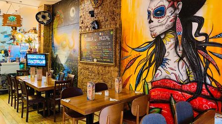 Like many other restaurants and bars around Hackney and the country Mezcal Cantina sits empty gather