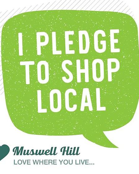 Muswell Business has called on residents to shop locally - and online where possible. Picture: Muswe