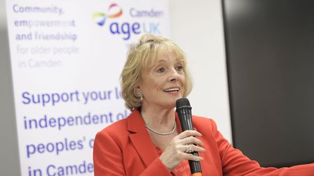 Dame Esther Rantzen is proud of Hampstead and Highgate's collective response to coronavirus. Picture