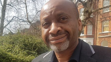 Haringey Council leader, Joseph Ejiofor, says the emergency fund will help the most vulnerable. Pict