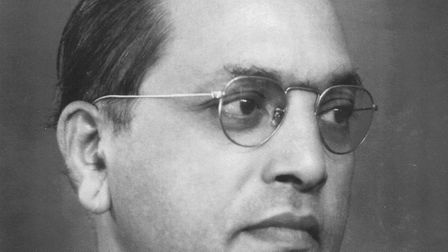 Dr Bhimrao Ramji Ambedkar, who helped write India's constitution. Picture: Wikimedia Commons