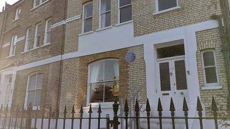 The Primrose Hill townhouse and now museum in King Henry's Road, where Dr Ambedkar stayed in the 192