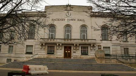 Hackney Town Hall. Picture Ken Mears