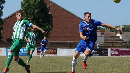 Shirley D Whitlow's photo of Lowestoft Town FC v Soham Town Rangers FC in pre season action on July