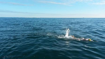 Student George Stannard, from Lowestoft, will attempt to swim the English Channel. Picture: Courtesy