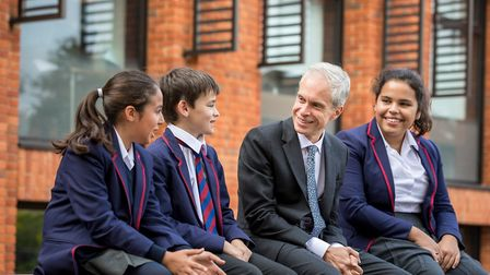 """Mr Pettitt said he was missing the school """"horribly"""". Picture: Highgate School"""