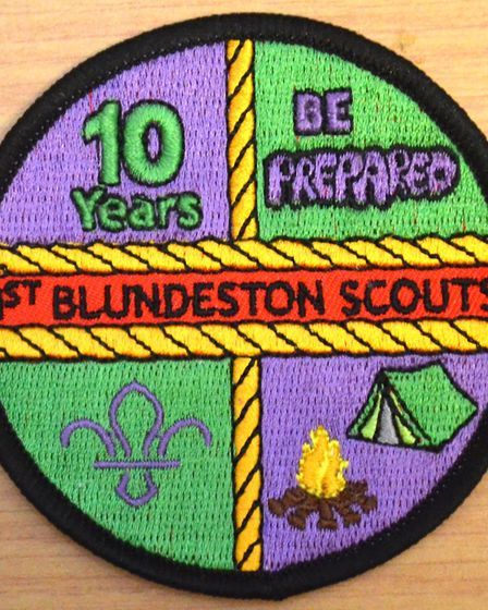 The 1st Blundeston and Flixton Scout group was disbanded in 1943 but at a celebration at their curre